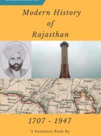 Modern History of Rajasthan Download PDF by RajRAS
